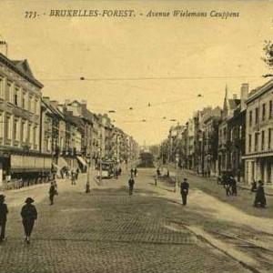 avenue Wielemans Ceuppens, il y a longtemps