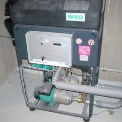 système de pompage d'eau de pluie