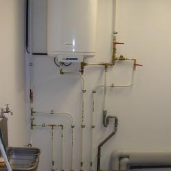 installation d'un boiler d'entreprise