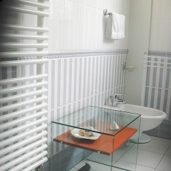 radiateur sèche-serviettes + bidet